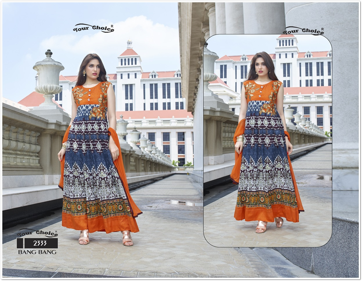 Bang Bang Cotton Designer Salwar Suit