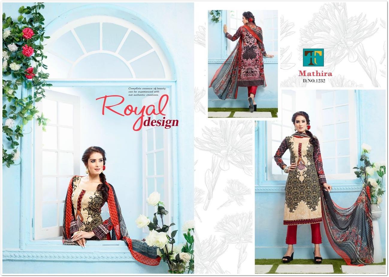 Mathira Premium Cotton Designer Salwar Suit
