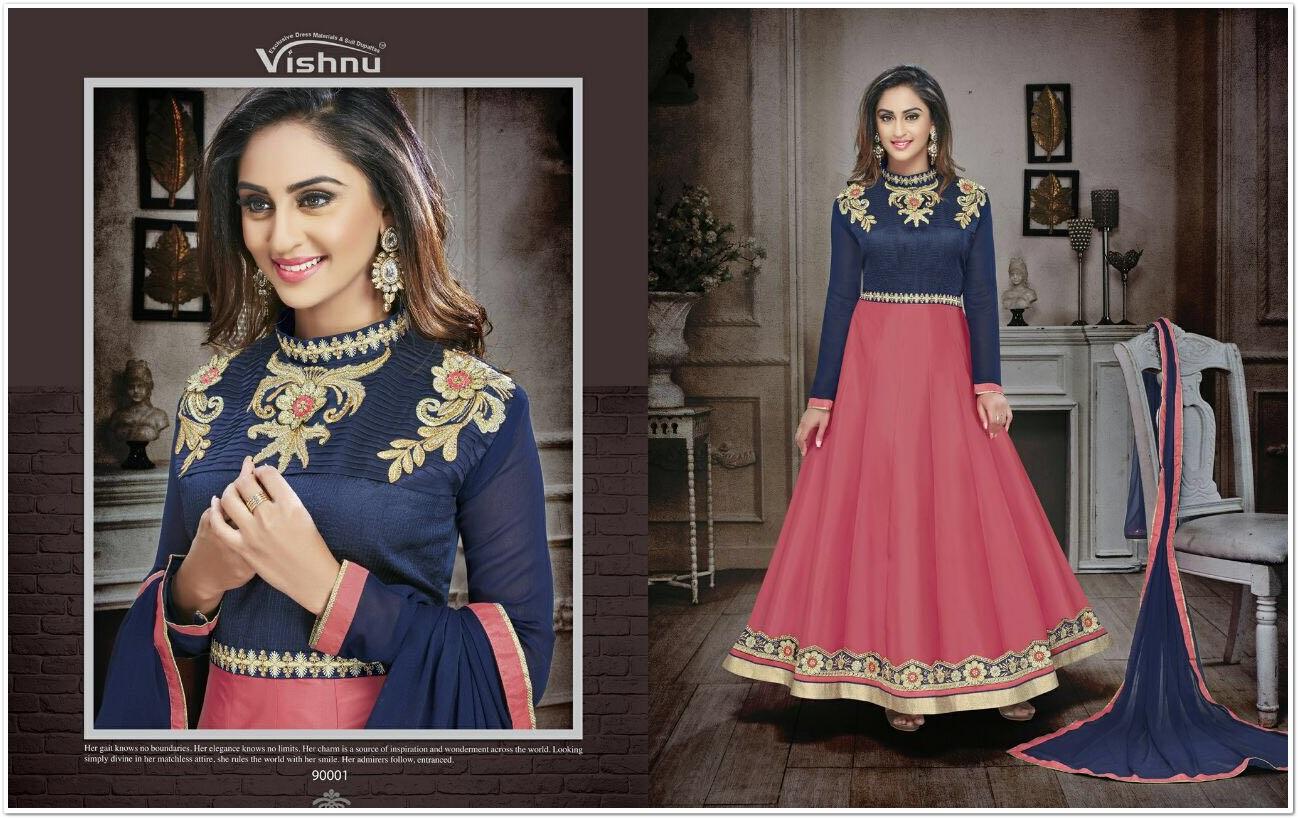 Parinaz Silk Designer Salwar Suit