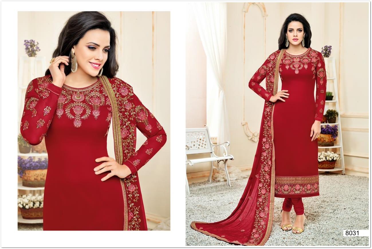 Zisa Designer Salwar Suit Vol 34