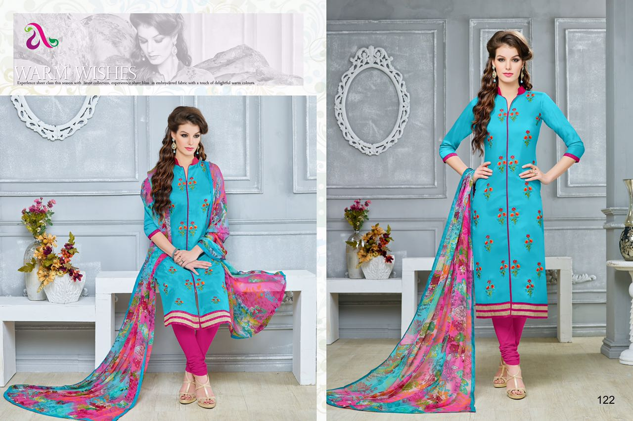 Dairy Milk Chanderi Salwar Suit Vol 12