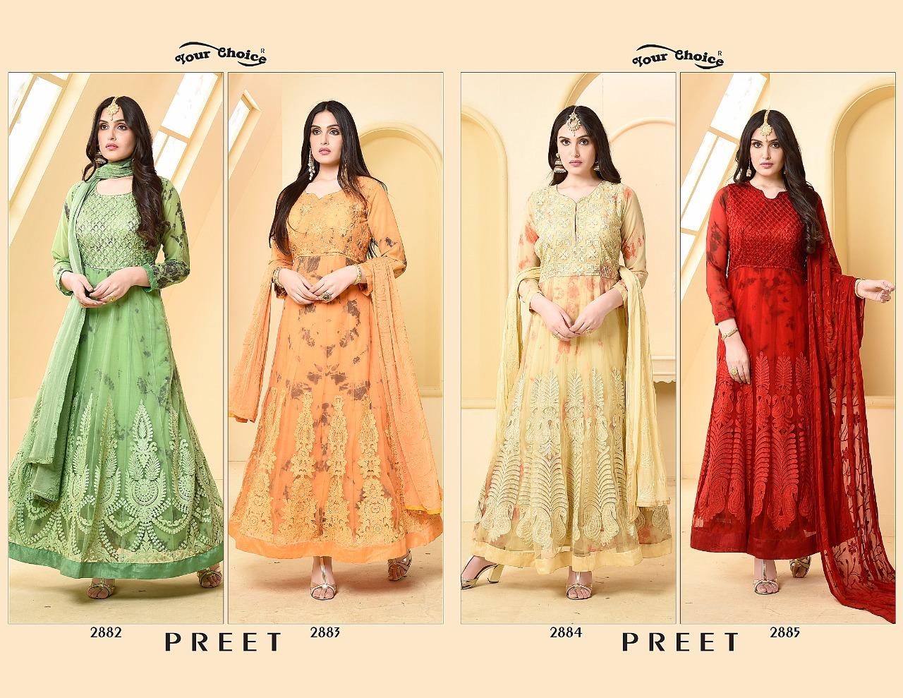 Your Choice Preet Designer Salwar Suit