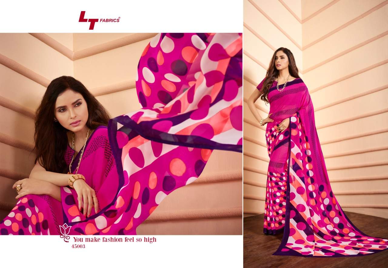 Lt Zara Georgette Saree Vol 24