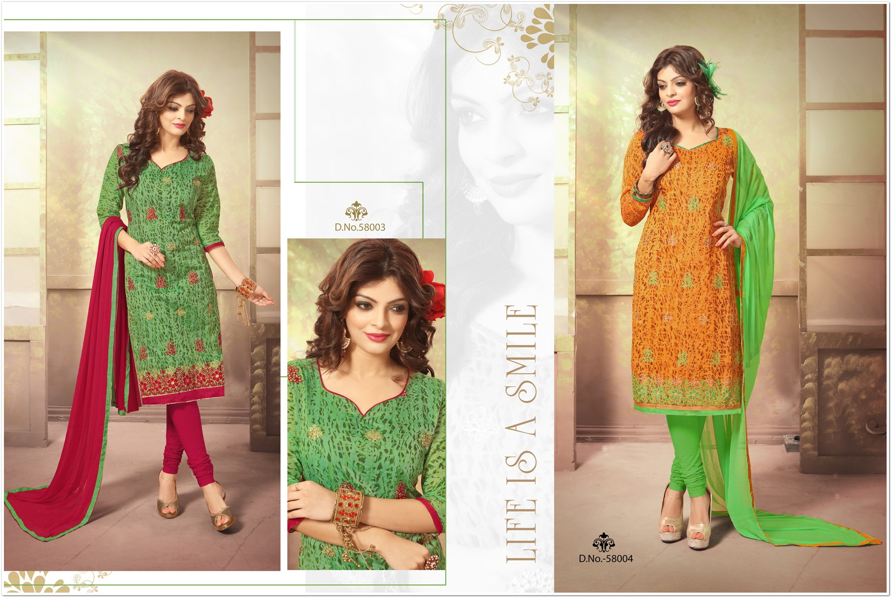 Kavya Low Range Chanderi Salwar Suit