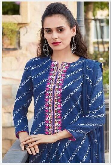 Blossome Cotton Designer Salwar Suit Vol 14