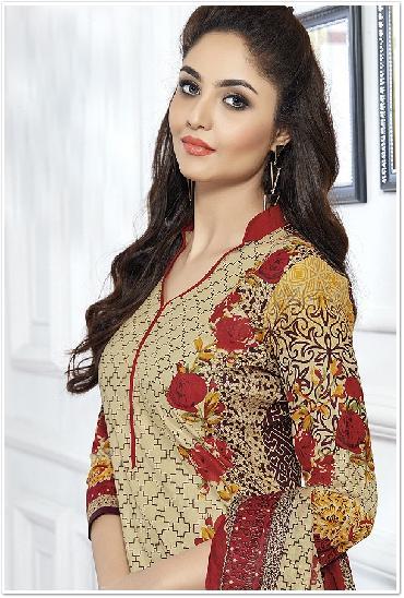 Heena Printed Cotton Dress Material Vol 2