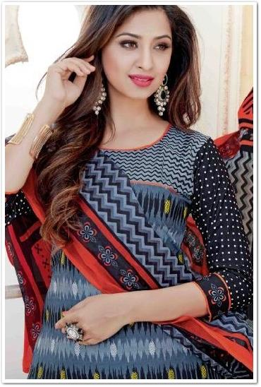 Jio Printed Cotton Dress Material