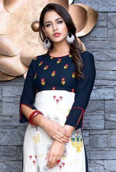 Kajal Style Eternal Designer Kurtis