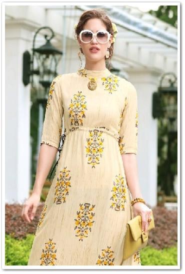 Kajal Style Fashion Famine Designer Kurtis Vol 2