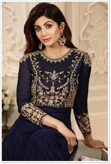 Karma Shilpa Shetty Designer Salwar Suit