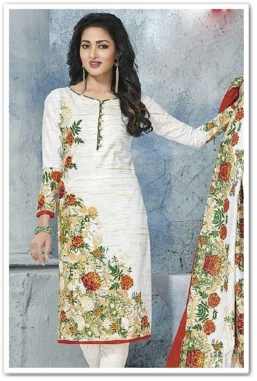 Pstyle Printed Cotton Dress Material Vol 27