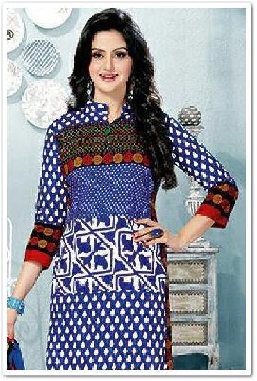 Rangoli Printed Cotton Dress Material