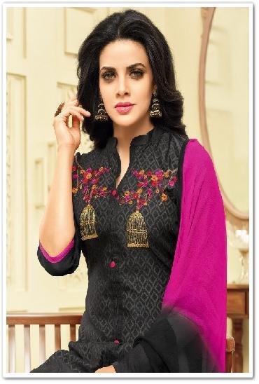 Shaista Chnaderi Designer Salwar Suit