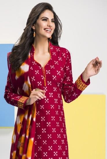 Shree Bhairav Aarushi Printed Cotton Dress Material